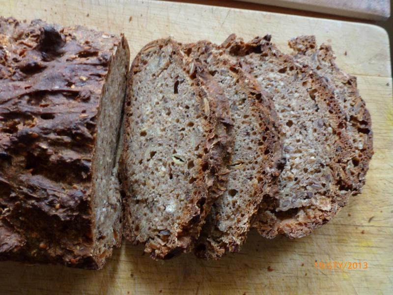 zdrowy chleb domowy